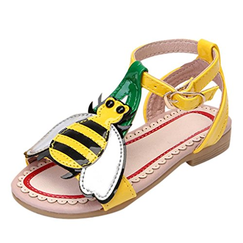 Emubody Girl Love Peach Cartoon Beach Sandals Princess Shoes Casual Shoes (27, (6mt 6 Light)