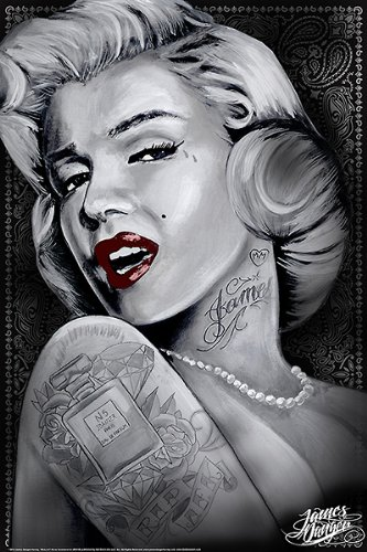 Amazon.com: Marilyn 1 (Marilyn Monroe Tattoos) by James Danger ...