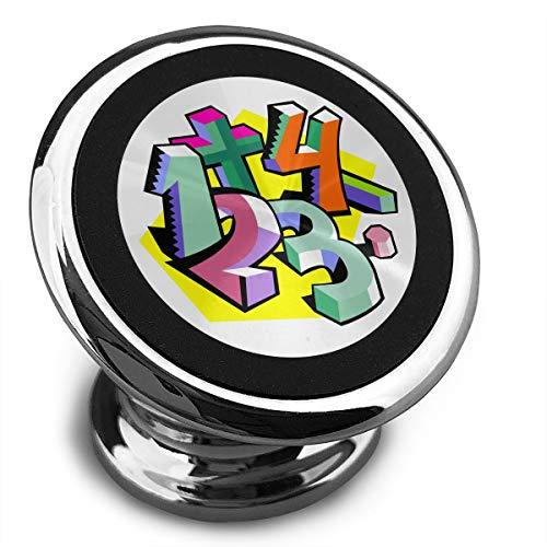 Baerg Universal Magnetic Phone Car Mounts Magnet Holder Math Clip Art Magnetic Mount for Phone 360° Rotation]()