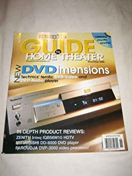 stereophile guide to home theater november 2000 39 vol 6 no 9 rh amazon com Stereophile Guide to Home Theater Stereophile Magazine 1 4 Million Dollar Systems