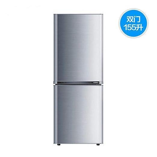 MYYQ Refrigerador pequeño de Doble Puerta del hogar Tipo de Puerta ...