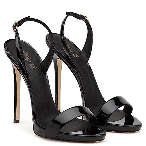 Dress EU43 dalla Scarpe 44 Stiletto Club 35 da Sandali GAOGENX Party Pumps donna alla Heel Taglie wXRp4pqU