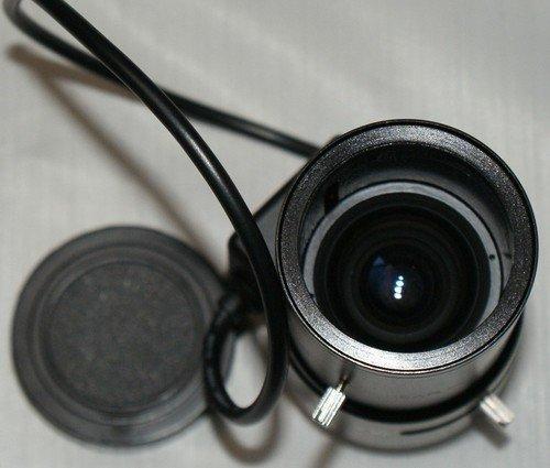 F7M12-2.8 - 12mm DC AUTO IRIS 4.3X Zoom CCTV Camera Lens Focus/Zoom Step Motor