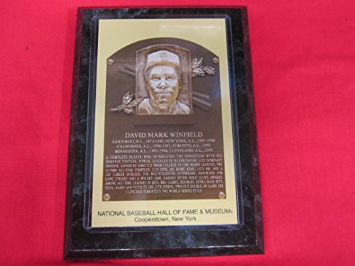 - Dave Winfield 2001 Hall of Fame Induction Postcard Plaque NEW!!