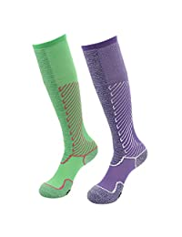 Gmark Unisex Moderate (15-20mmHg) Graduated Compression Football Socks 1-6 Pairs