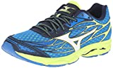 Shoes - Mizuno Men's Wave Catalyst Running Shoe, directories Blue/White, 10 D US
