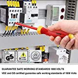 XOOL 1000V Insulated Electrician Screwdrivers Set