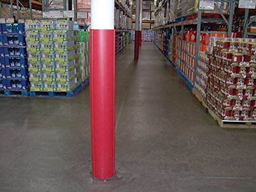 Column Wraps - BVCW Series; Overall Height: 60''; Fits Columns Measuring: 8''; Color: Red by Beacon World Class Products