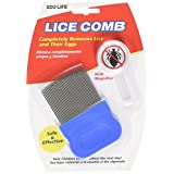AcuLife Metal Lice Comb with Free Magnifier