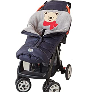 Per Saco de Dormir Invierno para Carrito Bebés Colchonetas Silla de Paseo Universales Saco de…