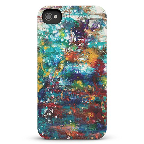 Koveru Back Cover Case for Apple iPhone 4/4S - Colored brushes