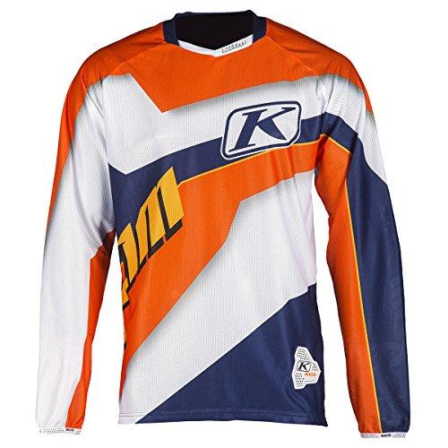 Klim XC Lite Jersey - LG/Orange by Klim (Image #1)