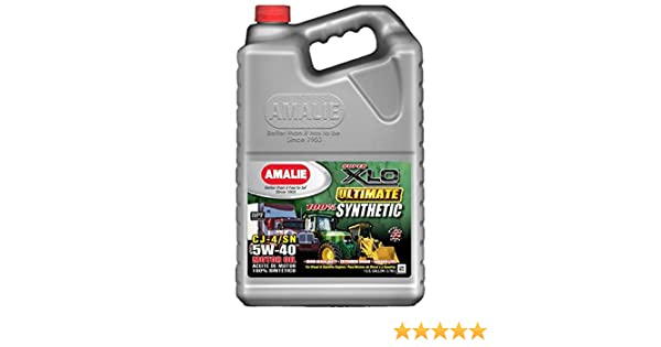 Amazon.com: Amalie XLO Ultimate 100% Synthetic 5W40-4/1Gal case: Automotive