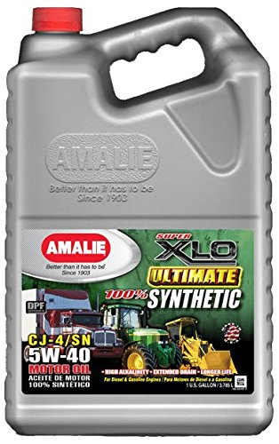 Amalie XLO Ultimate 100% Synthetic 5W40 - 4/1Gal case