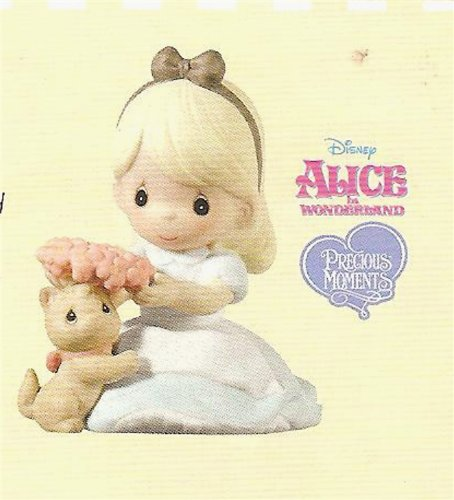 (2013 Hallmark Alice in Wonderland Disney Precious Moments July Ornament Premiere Limited Edition Ornament)