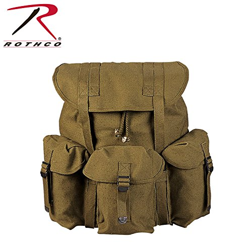 Rothco Canvas G.I. Style Soft Pack, Olive Drab ()