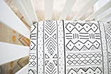 Mudcloth Fitted Crib Sheet