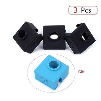 FYSETC - Calcetín de silicona para impresora 3D MK7 MK8 MK9 Hotend ...