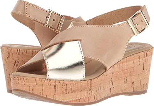 Cordani Women's Cleary Natural Leather/Gold 40 B EU
