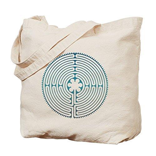 Chartre Labyrinth – コットンキャンバスショッピングバッグ、トートバッグバッグDesigned by leiacikl22 B078W7HK8P