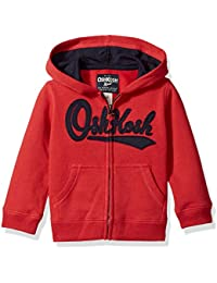 Osh Kosh Boys' Toddler Full Zip Logo Hoodie