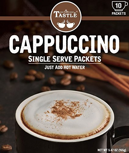 Cafe Tastlé Single Serve Coffee, Cappuccino, 20 - Italian Vanilla Milk