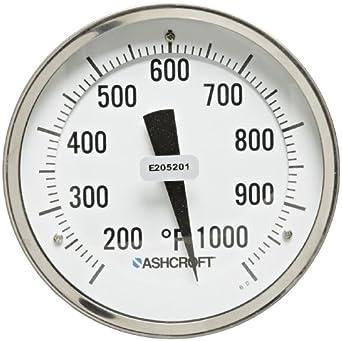 Ashcroft 5 INCH  Bi-metal Thermometer 7XA-54212-022