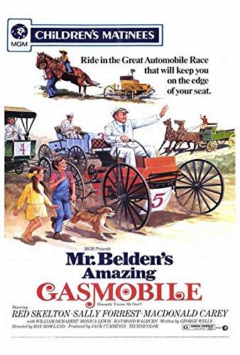 Mr. Belden's Amazing Gasmobile Poster