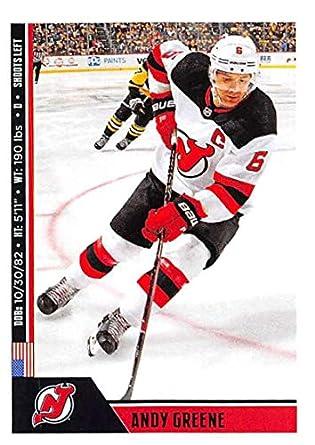 Amazon.com  2018-19 Panini NHL Stickers Hockey  130 Andy Greene New ... 9915e6f52