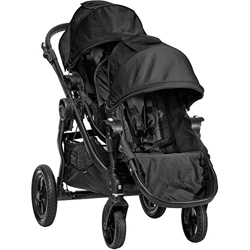 Car Seat Compatible Double Jogging Stroller - 8