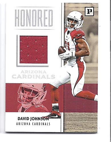 new style 2a8d9 e6b5a DAVID JOHNSON 2018 Panini Honored Swatches JERSEY Card #13 ...