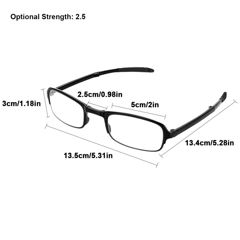Amazon.com: Gafas de lectura, gafas de lectura plegables ...
