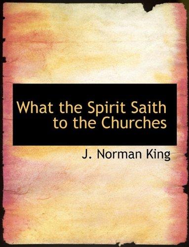 Download What the Spirit Saith to the Churches PDF