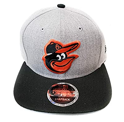New Era Baltimore Orioles 9Fifty Gray Heather Action Adjustable Snapback Hat