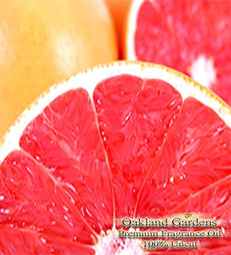 (P) Pink Grapefruit Reed Sticks & Diffuser Oil by OG - Seductively Tangy Fragrance Blends Fresh Pink Grapefruit with Sweet Valencia Orange, Mouth-Watering Clementine (8 oz (240ml)) by Premium Reed & Diffuser Oils by OG (Image #3)