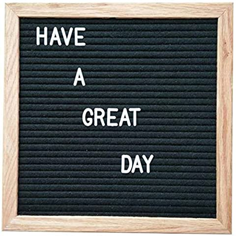 Changeable Letter Board (black) - Message Board Letter
