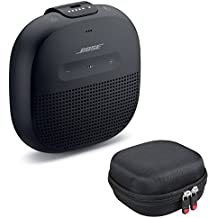 Bose SoundLink Micro Bluetooth Speaker, Black, with Protective Hardshell Travel Case