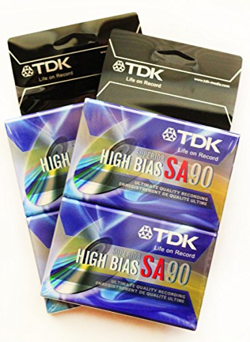 TDK SA90 High Bias Cassette 2/Pack (Tdk Sa90 Cassette Audio)
