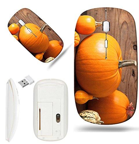 Luxlady Wireless Mouse White Base Travel 2.4G Wireless