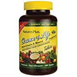 Nature's Plus -  Source of Life Multi-Vitamin and Mineral Supplement with Iron, 180 tablets