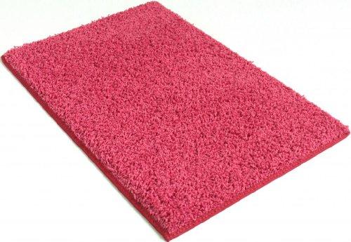 - 6' x 9' Bubble Gum Pink Area Rug