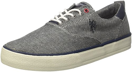 Uspolo Assn. Herren Theo Boston Sneaker, Grau (grey Grey) Chaussure Boston, Gris (gris)
