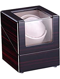 Handmade Automatic Single Watch Winder Elegant Wooden Sleek Case