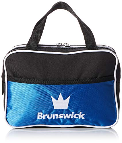 Brunswick Accessory Bowling Bag, Black/Royal