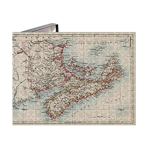 252 Piece Puzzle Of New Brunswick And Nova Scotia  1870S  5879743
