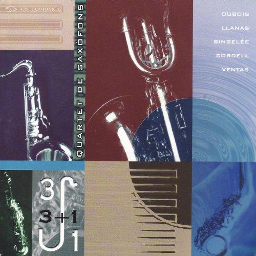 Dubois: Quator - Llanas i Rich: Contexto V - Singelée: Premier Quatuor Op. 53 - Cordell: Patterns - Ventas: Cuevas de - Pattern Premier