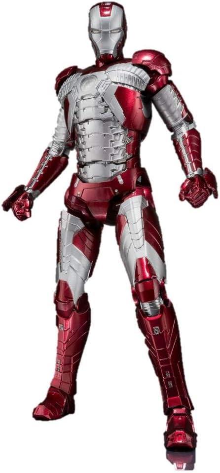 Iron Man MK V + Set Hall De Armaduras Figura 15 Cm Marvel Iron Man 2 SH Fig