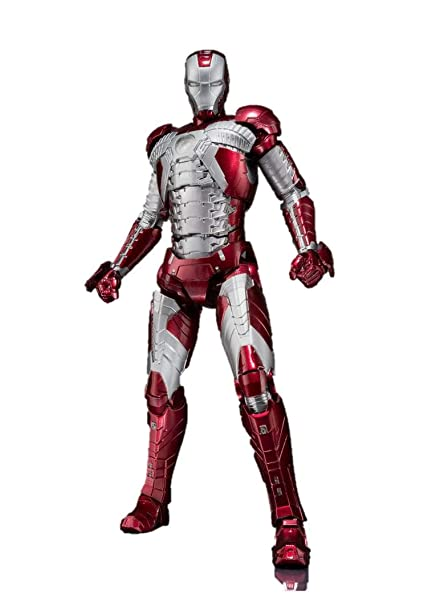 Bandai Tamashii Nations SH Figuarts Iron Man MK  V & Hall of Armor Set