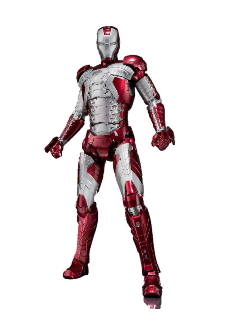 Bandai Tamashii Nations S.H. Figuarts Iron Man MK. V & Hall of Armor Set ''Iron Man 3'' Action Figure