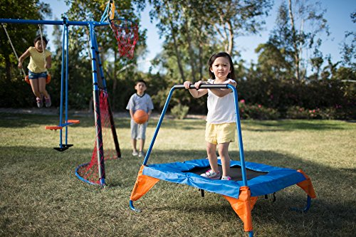 FITNESS REALITY KIDS 'The Ultimate' 8 Station Sports Series Metal Swing Set by FITNESS REALITY KIDS (Image #4)